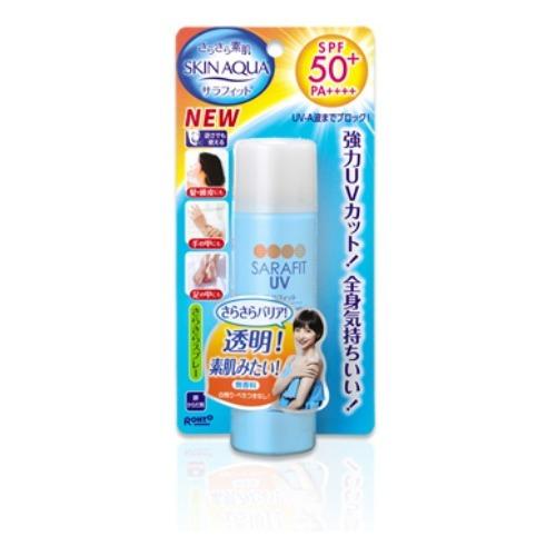 サラフィット UVさらさらスプレー 無香料 50g