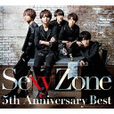 Sexy Zone 5th Anniversary Best(初回限定盤B)/CD/PCCA-05058