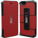 Urban Armor Gear iPhone 6用フォリオケース レッド UAG-IPH6F-RED