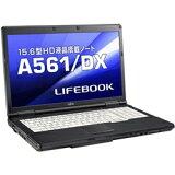 富士通 LIFEBOOK A561/ DX Cel B710/ 2GB/ 320GB/ DVD/ Win7 Pro FMVXN4LO4Z