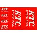 KTC KTCロゴステッカー