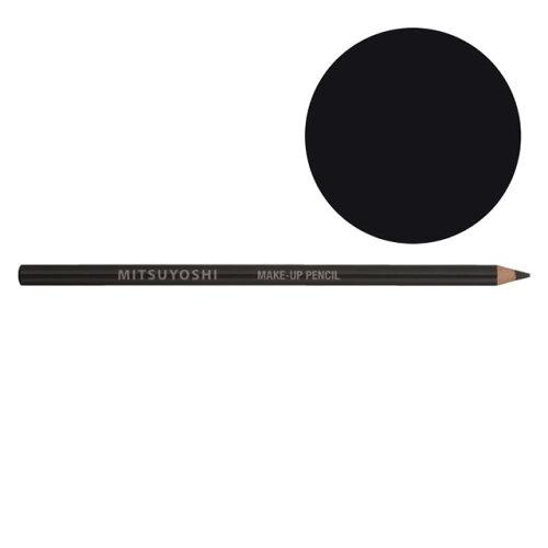 三善 メークアップペンシル アイライナー ソフトブラック MY30ー210276