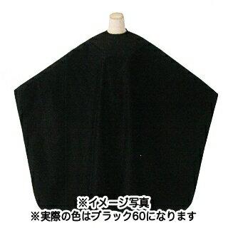 """ワード""""230""""L&W 袖なしヘアダイクロス ブラック60"""