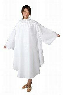ノンパチ SALA 袖付カットクロス ホワイト
