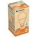 三菱化学メディア LED電球 一般電球形/40W相当/広配光/全光束485lm/電球色・口金E26 LDA5L-G/V5