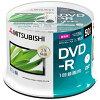 三菱化学メディア 録画用DVD-R 1-16倍速 4.7GB 50枚 VHR12JP50SD1-B