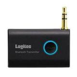 ロジテック Bluetooth/AV用オーディオトランスミッター/AC充電/ブラック LBT-AT100C2