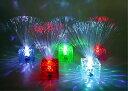 光るファイバースタンド(キューブ)の画像