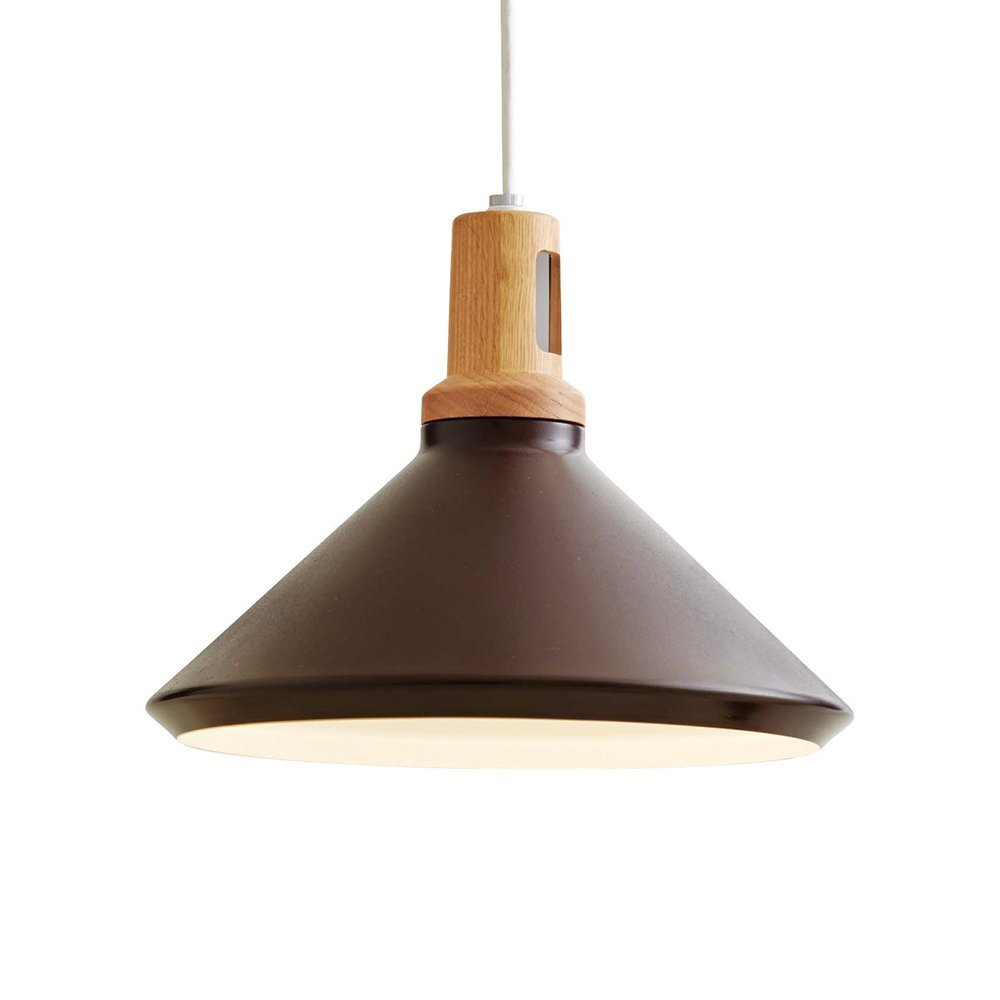 Stits スティツ  1灯ペンダントライト LT-9687 BN WH ブラウン ホワイト ホワイトハウス球NGL 天井照明 デザイン照明 ナチュラル