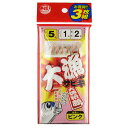 タカミヤ(TAKAMIYA) 大漁サビキ3枚組 ピンクスキン5号 JI103