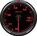 Defi 60Φ レッドレーサーゲージ 電圧計
