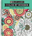 Color by Number Green /PUBN INTL/Ltd Publications International