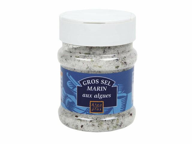 グロセルマランオザルグ 海藻入りあら塩 特製容器入り 250g