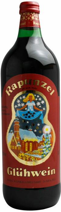 *(ドイツ)ラプンツェルグリューワイン(ホットワイン)赤 1000ml