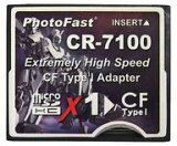 PhotoFast CR-7100 microSD(SDHC)→CF変換アダプター