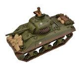 1/24 2.4GHz バトルタンクシリーズ M4A3シャーマン ハイテックマルチプレックスジャパン ハイテック.WT372014A M4A3シャーマン