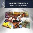 Les Baxter レスバクスター / Eight Classic Albums Vol 2 輸入盤