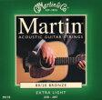 Martin(マーチン) マーチン アコースティックギター弦 M-170 エクストラライト - マーチン