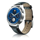HUAWEI ウェアラブル端末 ウォッチタイプ HUAWEI WATCH W1 Classic leather MERCURY-G00LE
