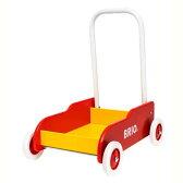 BRIO ブリオ 手押し車 赤