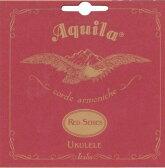 (1セット)Aquila/アクイーラ AQR-TLW (88U) RED SERIES ウクレレ弦 テナー用(LOW-G弦)