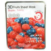 ミシャ3D フルーツ シートマスク スーパーベリー 23g スキンケア パック マスク