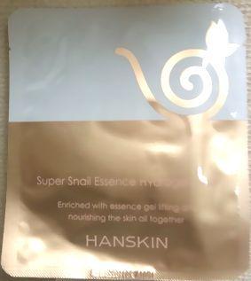 HANSKINハンスキンスーパースネイル エッセンスハイドロゲル マスク20mlx1枚