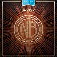 D'Addario/ダダリオ Nickel Bronze Wound Acoustic Guitar Strings NB1253/Light, 12-53