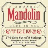 マンドリン弦 J74<D'addario>