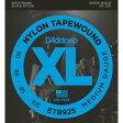 ダダリオ ETB92S Black Nylon Tapewound エレキベース弦