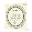 D'Addario ウクレレ弦 Pro-Art~ Rectified Black Nylon Soprano EJ53S