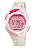 CASIO 腕時計 PHYS フィズ ランナーウォッチ LAP MEMORY60 TOUGH BATTERY10 STR-300-7 ピンク