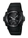 CASIO G-SHOCK腕時計 AWG-M100B-1A オールブラック