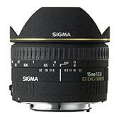 SIGMA 15F2.8EX DG DIAGONAL FISHEYE/N
