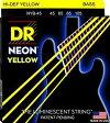 DR NEON YELLOW DR-NYB45 Medium エレキベース弦 / ディーアール