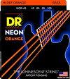 DR NEON ORANGE DR-NOB45 Medium エレキベース弦 - ディーアール