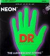 DR NEON GREEN DR-NGB45 Medium エレキベース弦 - ディーアール