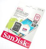 SanDisk SDSQUNC-032G-GN6MA 32GB MicroSDHC SD変換アダプター付属 UHS-1 80MB/s 海外パッケージ品