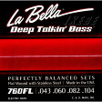 Labella ベース弦 760FL / Flat Wound with Stainless Steel(ラベラ)(5029)
