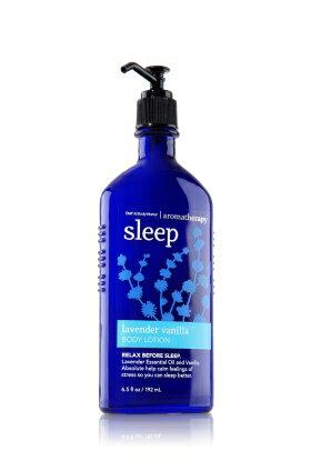 バス&ボディワークス アロマセラピー スリープ ラベンダーバニラローション Aromatherapy Sleep Lavender Vanilla Body Lotion