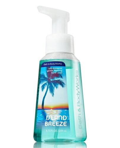 バス&ボディワークス アイランド ブリーズ ジェントル フォーミング ハンドソープ Island Breeze Gentle Foaming Hand Soap