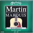 M1000 Martin アコースティックギター弦 エクストラライトゲージ