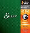 14052 ELIXIR エリクサー エレキベース弦 .045-.100 ロングスケール Elixir NANOWEB Light / Long Scale 14052ELIXIR