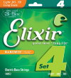 14052 Elixir ベース弦 ナノウェブ ライト・ロングスケール