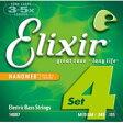 14087 Elixir ベース弦 ナノウェブ ミディアム・エクストラロングスケール