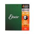 14502 Elixir アコースティックベース弦 ナノウェブ ライト・ロングスケール
