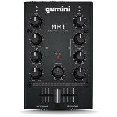 gemini/ジェミナイ MM1 コンパクト ハイコストパフォーマンスDJ ミキサー