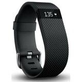 FITBITウェアラブル活動量計 リストバンドタイプ ワイヤレス活動量計+心拍計リストバンド Fitbit ChargeHR Small FB405BKS-JPN Black ブラック FB405BKSJPN