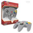 グレー nintendo64コントローラー ゲームコントローラー N64 Cirka Controller