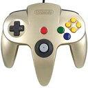 ゴールド nintendo64コントローラー ゲームコントローラー N64 Cirka Controller サードパーティー社製